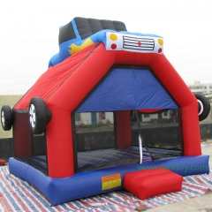 Backyard Pumpkin Inflatable Bouncer Castle Combo
