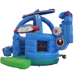 Helicopter Inflatable Bouncy Castle