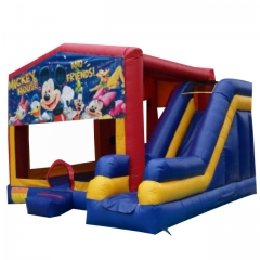 Mickey Inflatable Bouncer Slide