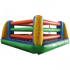 Custom Made Amusement Park Inflatable Boxing Ring Game for adult