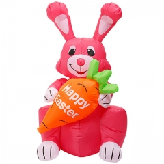 Inflatable Easter Bunny Decoration