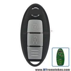 Smart key 2 button 433.9mhz for Nissan Qashqai X-Trail