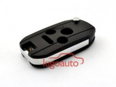 Refit flip key shell 3 button with panic for Honda Accord Civic CR-V Pilot Fit 2003 - 2013