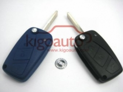 Refit flip key shell for Fiat 3 button