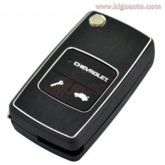 Flip key shell for Chevrolet 2button