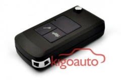 Flip key shell 3 button for Chevrolet Epica
