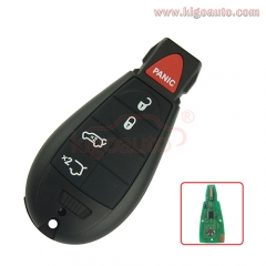 #6 fobik key remote 4 button with panic 434Mhz IYZ-C01C for Jeep Grand Cherokee