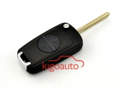 Refit flip key shell 2 button NSN14 for Nissan Patrol