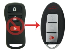 Refit smart key 3 button 315Mhz for Nissan Murano Pathfinder Xterra 2004