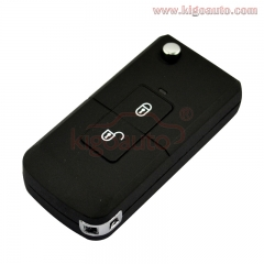 Refit flip key shell 2 button for Nissan Micra