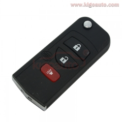 Refit flip key 3 button 315Mhz KBRASTU15 remote key for Nissan ALTIMA MAXIMA Sentra
