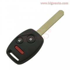 MLBHLIK-1T Remote key 2 button with panic HON66 313.8 Mhz for Honda CRV Fit