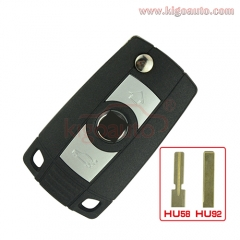 Refit key shell 3 button HU92 for BMW