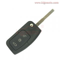 3M5T15K601AB flip key 3 button HU101 434Mhz for Ford Focus