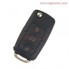 1JO 959 753 N Remote key 3 button HU66 434Mhz for VW Bora Seat Ibiza Skoda Octavia 2000 1J0959753N