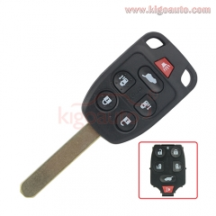 N5F-A04TAA remote key 313.8Mhz 6 button  for Honda Odyssey 2013