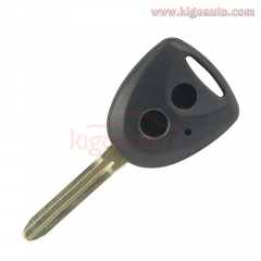 Remote key shell 2 button TOY43 blade for Toyota