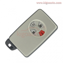 Smart key case 3 button with panic for Toyota