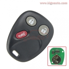 LHJ011 remote fob 3 button 315Mhz for GM