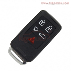 Smart key 5 button 434Mhz for Volvo XC70 V70 XC60 S80 S60