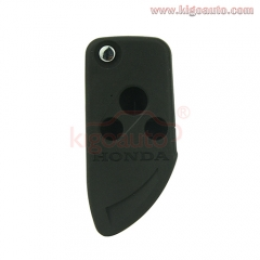 Refit flip remote key shell 3 button for Honda