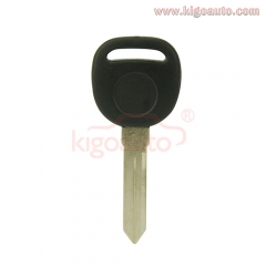 Transponder key blank B99 for GM