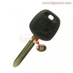 Transponder Key blank TOY43 with H chip for Toyota
