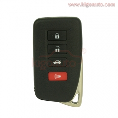 smart key case 3 button with panic for Lexus