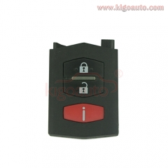 Remote key part shell 3 button for Mazda CX-7
