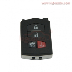 Remote key part shell 4 button for Mazda 3 6