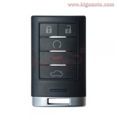 M3N5WY7777A smart key 5 button 315Mhz for Cadillac CTS STS