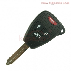 OHT692427AA Remote head key 4 button 315Mhz for Chrysler