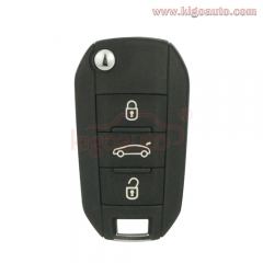 5FA010 OEM flip key remote 3 button 433Mhz PCF7941  ID46 chip for Citroen C4L Cactus 2013-2017