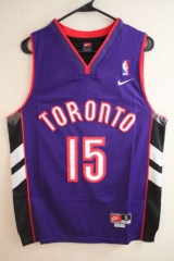 NBA Toronto Raptors Vince Carter Classic Throwback Swingman Jersey Retro Vintage