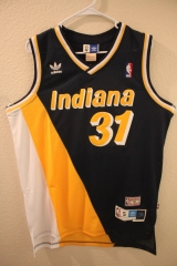 NBA Indiana Pacers Reggie Miller Cheap Retro Throwback Jersey Hardwood Classics
