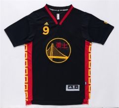 GSW Golden State Warriors Andre Iguodala Chinese New Year Black Swingman Jersey Stitched Men Throwback Shirt Uniform