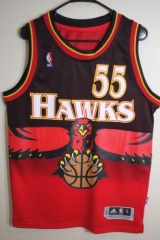 NBA Atlanta Hawks Dikembe Mutombo Hardwood Classics Vintage  Cheap Retro Throwback Jersey