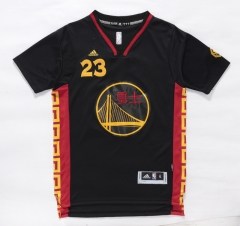 GSW Golden State Warriors Draymond Green Chinese New Year Black Swingman Jersey Stitched Throwback T Shirt