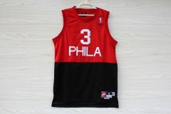 NBA Philadelphia 76ers Sixers Allen Iverson Phila Swingman Jersey Throwback Retro Vintage Stitched Basketball Clothing