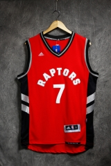 2016 NBA Toronto Raptors Kyle Lowry Red Swingman Jersey