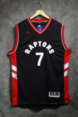 2016 NBA Toronto Raptors Kyle Lowry Black Throwback Swingman Jersey