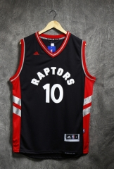 2016 NBA Toronto Raptors Demar Derozan Black Throwback Swingman Jersey