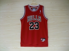 Chicago Bulls Michael Jordan 23 Red Swingman Mens Jersey