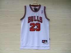 Chicago Bulls Michael Jordan 23 Home White Swingman Basketball Jersey