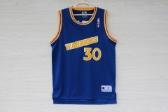 Golden State Warriors Steph Curry Jersey Royal Blue Swingman Stephen Curry Stitched Throwback Stephan Shirt Uniform