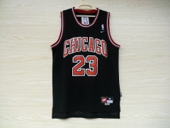 Chicago Bulls Michael Jordan 23 Black Swingman Jersey