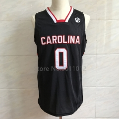 #0 Sindarius Thornwell South Carolina Gamecocks College Basketball Jersey Mens Embroidery Stitched Jerseys