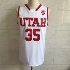 #35 Kyle Kuzma Utah College Throwback Basketball Jersey Men's Embroidery Stitched Jerseys