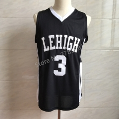 #3 CJ McCollum Lehigh Mountain Hawks College Throwback Basketball Jersey Men's Embroidery Stitched Jerseys