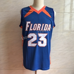 Florida Gators College #23 Bradley Beal Throwback Blue Basketball Jersey Men's Embroidery Stitched Jerseys